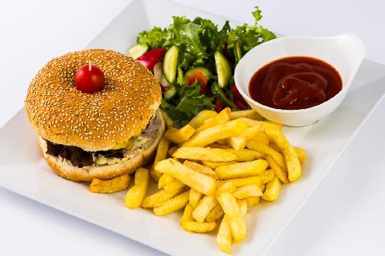 "Radisson Blu Ridzene Hotel: Bar ""Rīdzene"" menu: Burger"