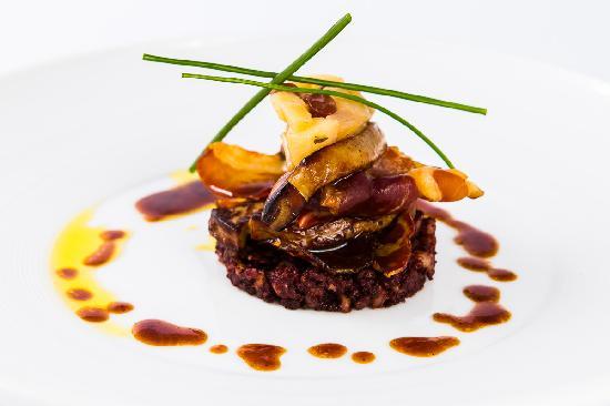 Radisson Blu Ridzene Hotel: Restaurant Piramida menu: Foie Gras