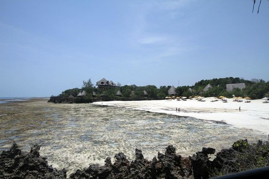 The Sands At Chale Island: Suit On The Rock. Beach view