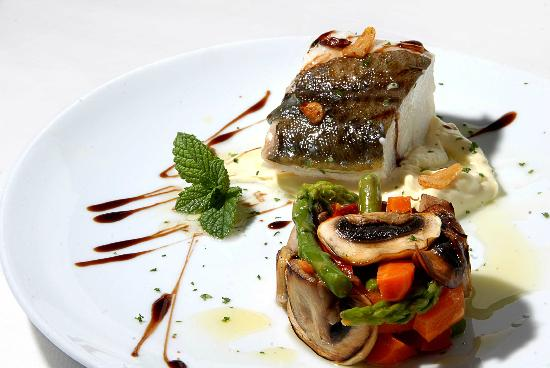 Restaurante Tio Pepe: Bacalao a daja temperatura con falso pil-pil