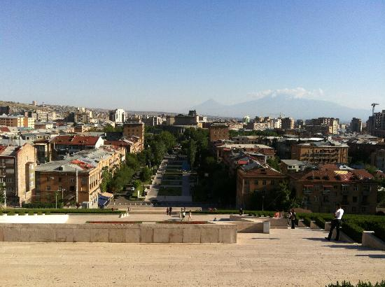 Yerevan Cascade : View from the top