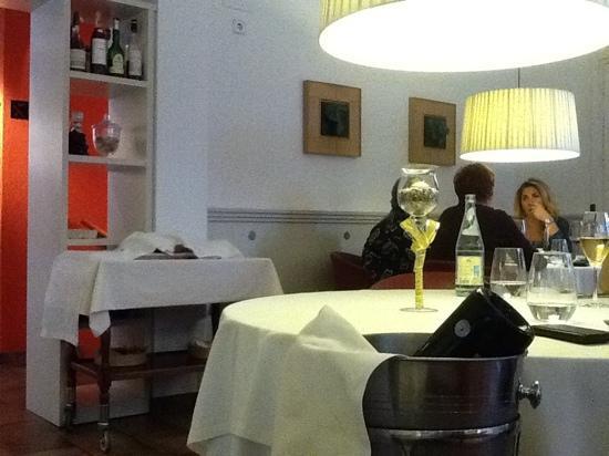 interior restaurante Materia Prima Sant Cugat