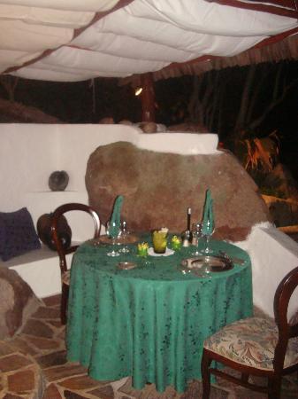 Chauve Souris Relais: un tavolo per la cena
