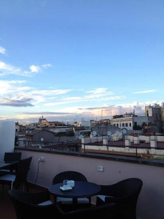 Hotel Indigo Rome - St. George: View from rooftop