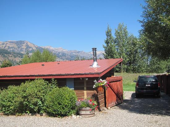 Teton View Bed & Breakfast: cabin