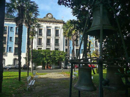 Zestoa, Spanien: Entrada al hotel