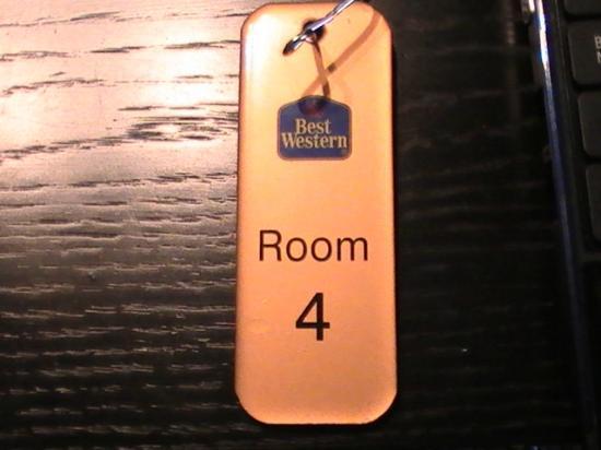 Hallmark Inn Chester: numero de habitacion