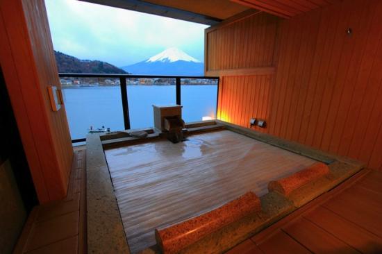 Kozantei Ubuya: Private Open air bath