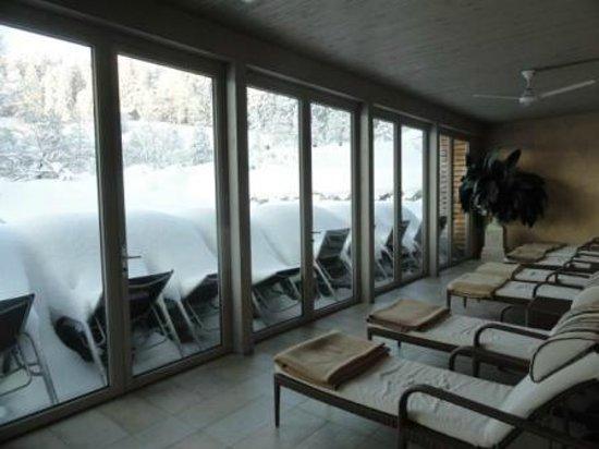 Lindner Parkhotel & Spa Oberstaufen: Ruheraum im Schwimmbad