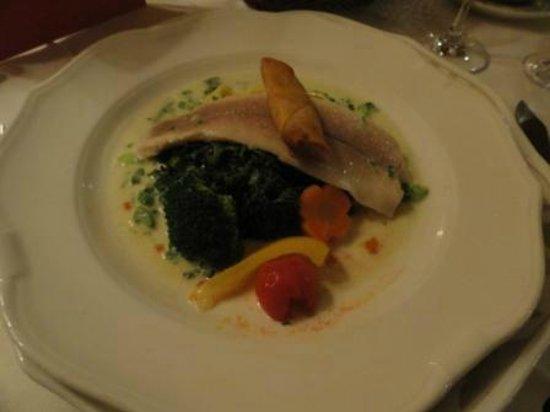Lindner Parkhotel & Spa: Fisch Hauptgang