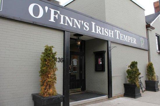 O'Finn's Irish Temper
