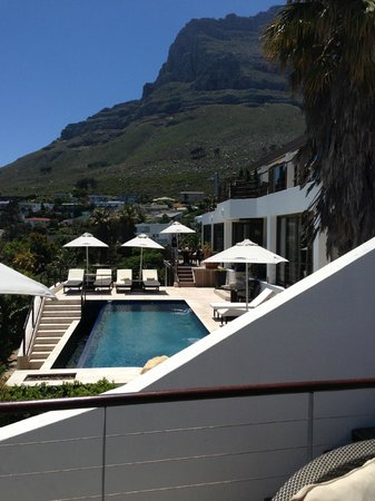 Atlanticview Cape Town Boutique Hotel:                                     Terras