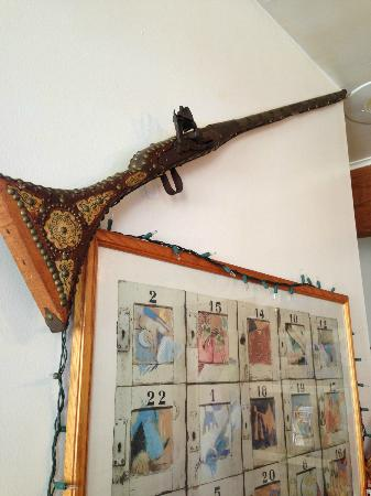 The Rhett House Inn: Pakistani Rifle in the kitchen