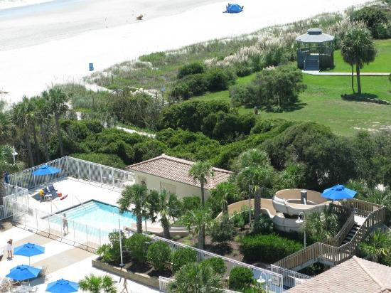 Myrtle Beach Marriott Resort & Spa at Grande Dunes: Check out the waterslide