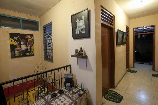 The Munajat Backpacker : upstair
