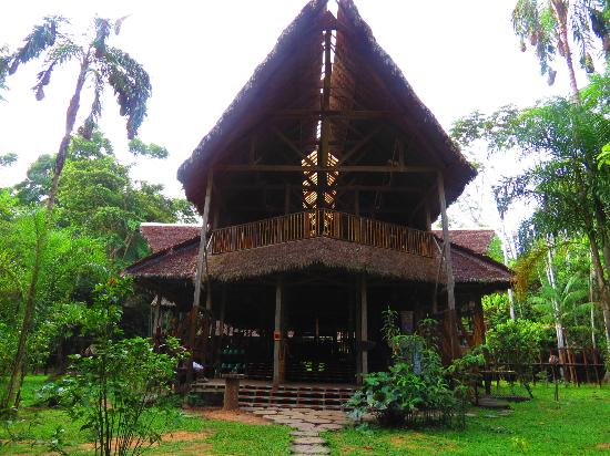 Refugio Amazonas: The front of the lodge