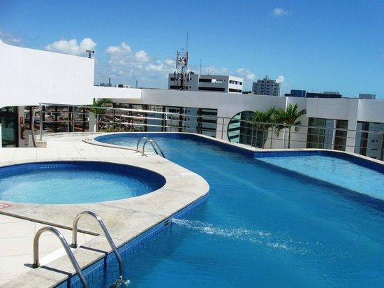 Best Western Premier Maceio : Piscina terraço, venta bastante