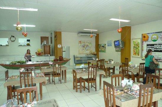 Casa da Pamonha: The dining room