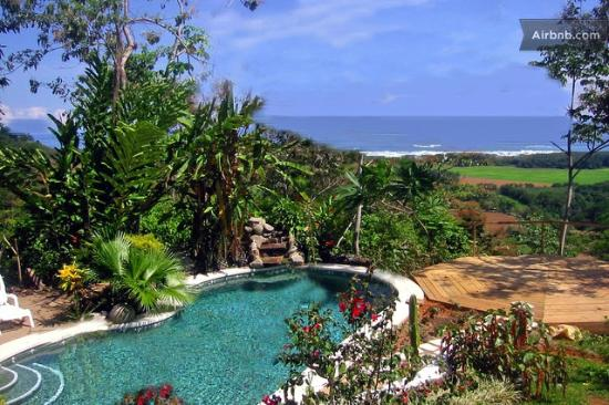 Casa Sosegada : View of Pool and Ocean