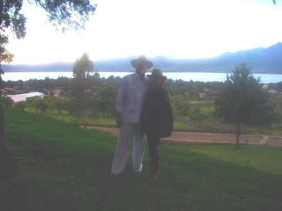 Casona Rosa: PAMELA & ME AT PATZCUARO LAKE
