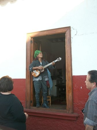 Casona Rosa, Morelia: PAMELA SINGING IN PATZCUARO