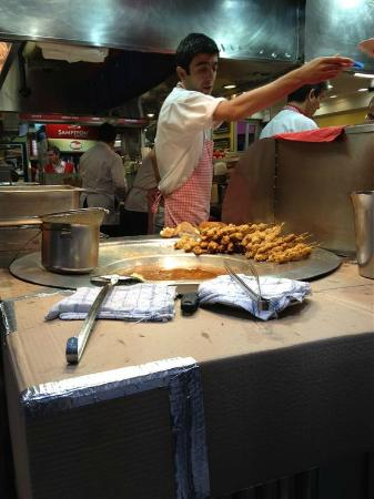 Delicious turkish deep fried stuffed mussels! must try! - Picture of ...