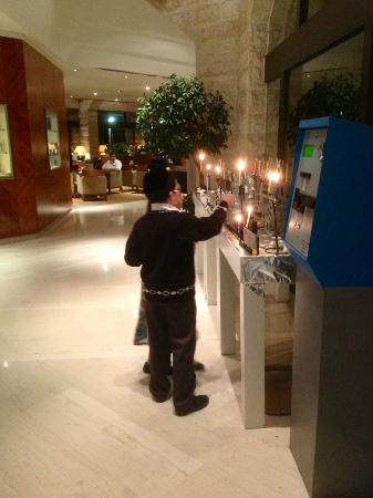 Inbal Jerusalem Hotel: Sabat