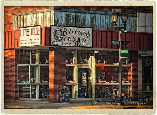 Blooming Grounds Coffee House Foto