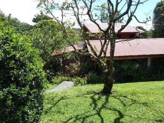 Arco Iris Lodge: Gartenanlage