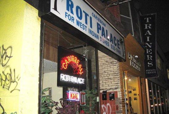 Photo of Restaurant Caribbean Roti Palace at 744 Bathurst St, Toronto M5S 2R6, Canada