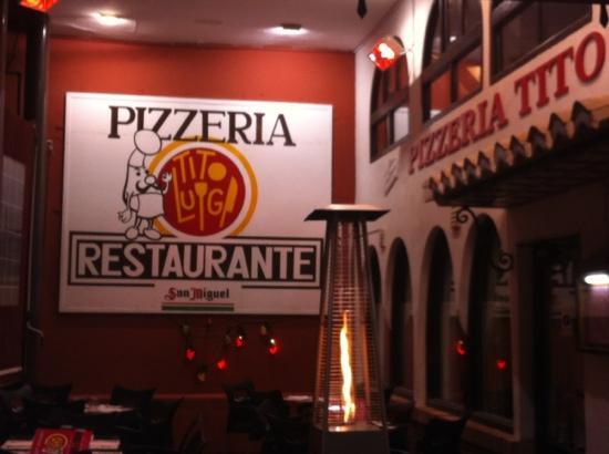 Pizzeria Tito Luigi: tasty!