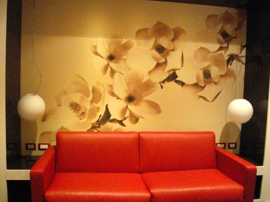 Fabio Massimo Design Hotel: Ingresso...soggiorno.