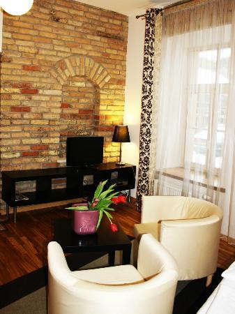 Stepono Apartments: Chocolate studio