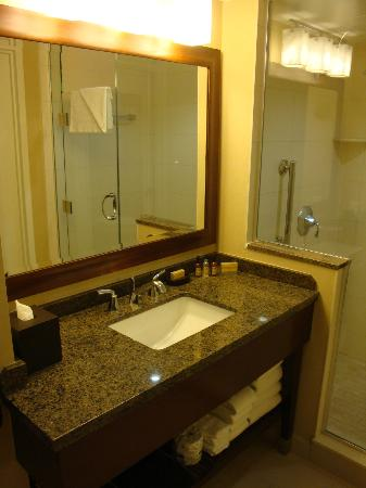 Marriott Marquis San Diego Marina : bathroom
