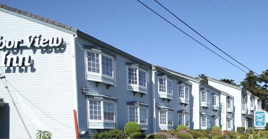hotel picture of harbor view inn half moon bay. Black Bedroom Furniture Sets. Home Design Ideas