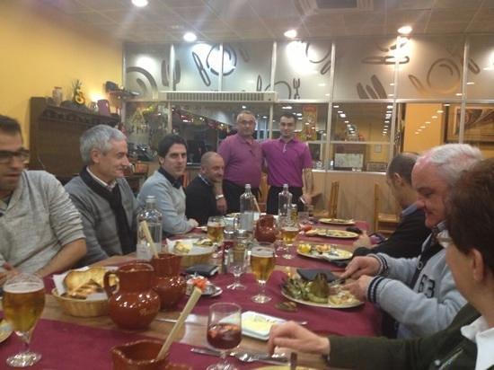 Santa Rita: Gran cena de empresa con un gran servicio