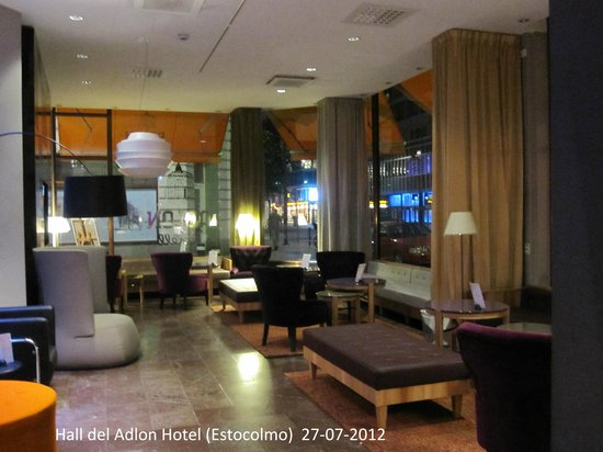 Elite Hotel Adlon: Hall del Hotel