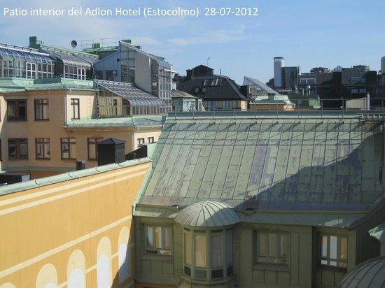 Elite Hotel Adlon: Vista desde la habitación