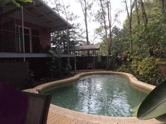 Clifton Beach Retreat: Pool and Balcony