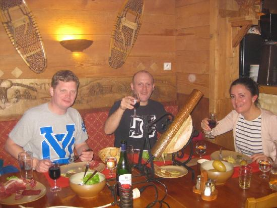 Restaurant Le Barillon : Raclette, a winner!!