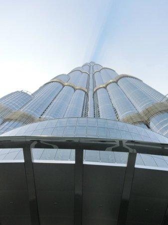 Armani Hotel Dubai: Blick vom Hoteleingang hinauf