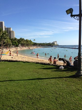 Waikiki Resort: Waikiki beach !