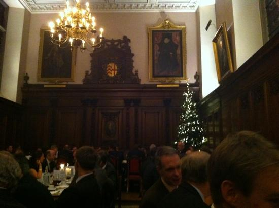 Clare College: Xmas in the Great Hall