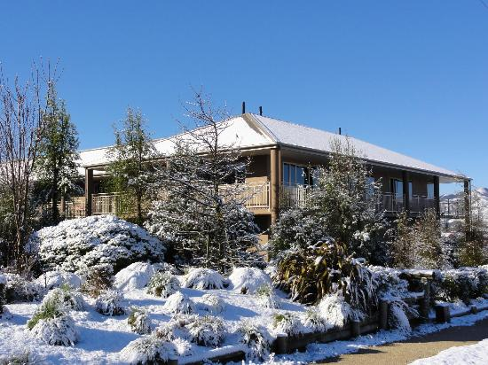 Hot Springs Motor Lodge: Winter Wonderland