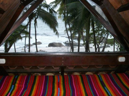 Ylang Ylang Beach Resort: View from the loft in Coco Joes Bungalow