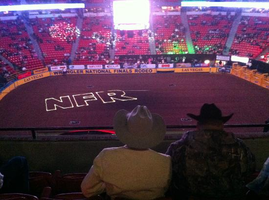 national rodeo inside at the nfr - Country Christmas Las Vegas