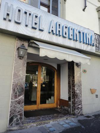Hotel Argentina: Facade de l'Hôtel