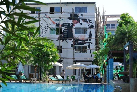 My Way Hua Hin Music Hotel: Complex van verbouwing