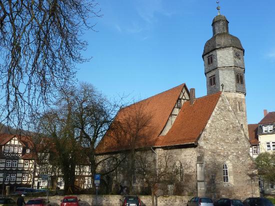 Fahrrad und Familienhotel Aegidienhof: Lovely Church Across the Street