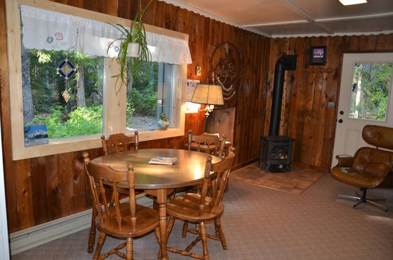 Summit Meadow Cabins: Mineral Cr living area